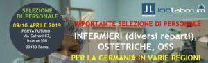 9+10 april 2019 Rom: Grosse personalauswahl für Pfleger, Hebammen und Pflegehelfer