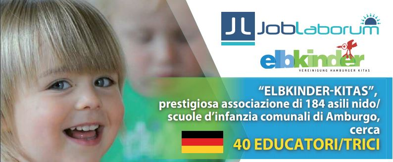 Educatori/trici per la Germania-Amburgo: new castings 23 october – Rome