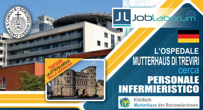 Infermieri per Germania-Treviri: new castings 28/29 october – Rome!