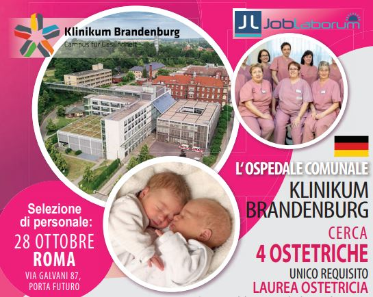 Ostetriche per la Germania-Berlino-Brandenburg: new castings 28 october – Rome!